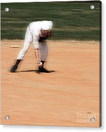 Baseball In The 1860s  Acrylic Print by Steven Digman