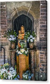 The Virgin And Child  Acrylic Print by Ian Mitchell