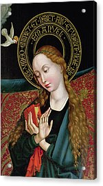 The Virgin From The Annunciation Acrylic Print