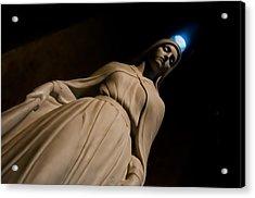 The Virgin Mary Acrylic Print by Joe Houghton