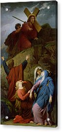The Virgin Of Calvary Acrylic Print by Jules Eugene Lenepveu