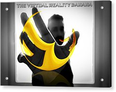 The Virtual Reality Banana Acrylic Print