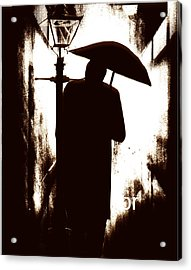 Acrylic Print featuring the digital art The Visitor  by Fine Art By Andrew David