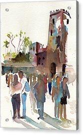 The Visitors Acrylic Print