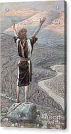The Voice In The Desert Acrylic Print by Tissot