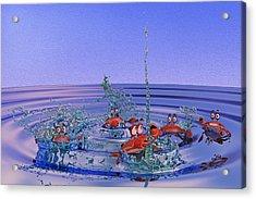 The Wading Pool Acrylic Print by Betsy Knapp