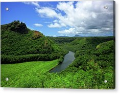 The Wailua River Acrylic Print