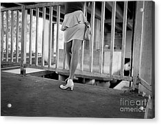 Acrylic Print featuring the photograph The Wait by Dean Harte