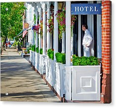 Acrylic Print featuring the photograph The Waiter by Keith Armstrong