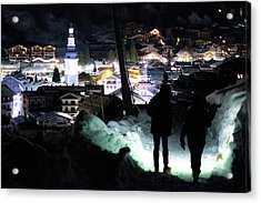 The Walk Into Town- Acrylic Print
