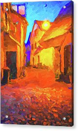 The Walkabouts - Night Walk In A Small German Town Acrylic Print