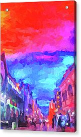 The Walkabouts - Sunset In Chinatown Acrylic Print