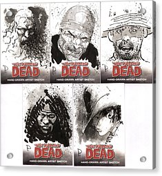 The Walking Dead Acrylic Print