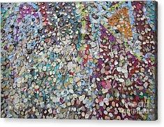 The Wall #4 Acrylic Print