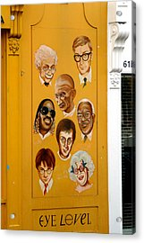 The Wall Of Fame Acrylic Print by Jez C Self
