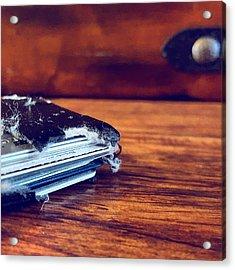 The Wallet II Acrylic Print by Daniel Donche