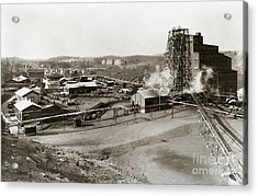The Wanamie Colliery Lehigh And Wilkes Barre Coal Co Wanamie Pa Early 1900s Acrylic Print