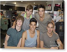 The Wanted Acrylic Print
