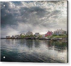 Monhegan Harbor View Acrylic Print