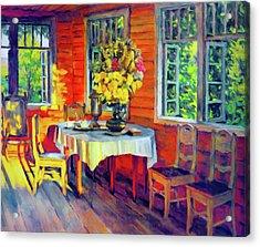 The Warmth Of Home Acrylic Print by Georgiana Romanovna