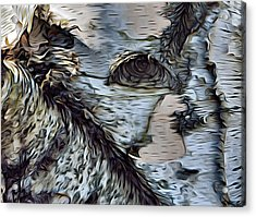 The Watcher In The Wood Acrylic Print