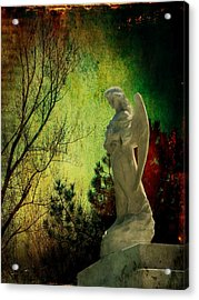 The Watcher Acrylic Print by Leah Moore