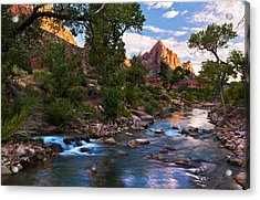 The Watchman Acrylic Print by Bjorn Burton