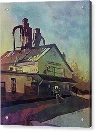 The Watchman Acrylic Print by Kris Parins