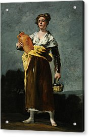 The Water Carrier  Acrylic Print by Francisco Goya