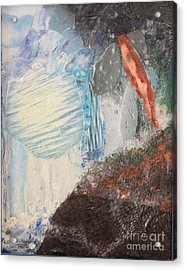 Acrylic Print featuring the painting The Water Cycle by Terri Thompson