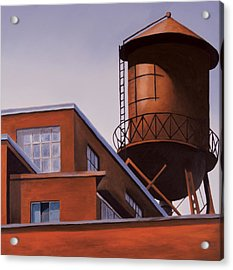 The Water Tower Acrylic Print by Duane Gordon