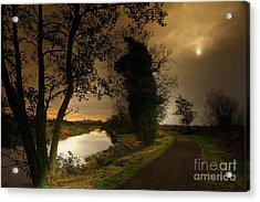 The Water Trail Acrylic Print by Kim Shatwell-Irishphotographer