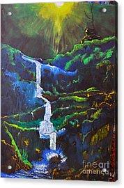 The Waterfall Acrylic Print