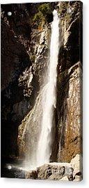 The Waterfall Acrylic Print by Winona Steunenberg