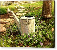 The Watering Can Acrylic Print