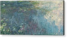 The Waterlilies  The Clouds Acrylic Print