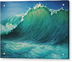 The Wave By Alan Zawacki Acrylic Print