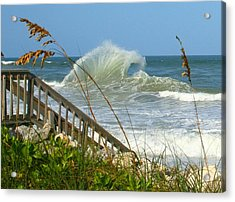 Acrylic Print featuring the photograph The Wave by Denise Moore