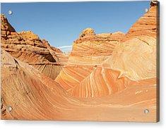 The Wave In Navajo Sandstone Acrylic Print by Tim Grams