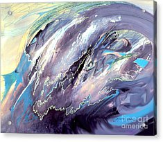 The Wave That Never Crashes Acrylic Print