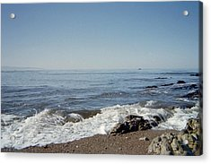 The Waves Of Undeconstruction Acrylic Print by Susanne Awbrey