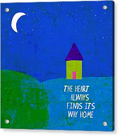 The Way Home Acrylic Print