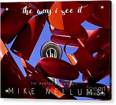 The Way I See It Coffee Table Book Cover Acrylic Print