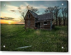 Acrylic Print featuring the photograph The Way She Goes by Aaron J Groen