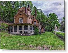 The Wayside Home Of Nathaniel Hawthorne Acrylic Print