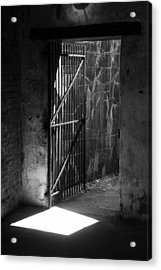 The Weathered Wall Acrylic Print