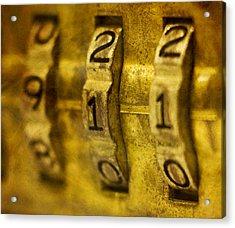 The Web Of Nine Eleven  Acrylic Print