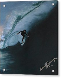 The Wedge - Shoot The Curl Acrylic Print