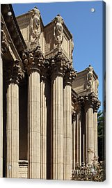 The Weeping Maidens Of The San Francisco Palace Of Fine Arts 5d18127 Acrylic Print