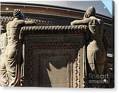 The Weeping Maidens Of The San Francisco Palace Of Fine Arts 7d18389 Acrylic Print